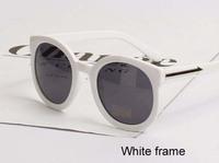 Free shipping(2pcs/lot)9006 For women plastic frame sunglasses/frog mirror sunglasses