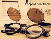 Free shipping(2pcs/lot)83010 For men&women plastic frame Retro sunglasses with cover