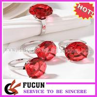 (50pcs/lot)colorful diamante napkin ring for wedding