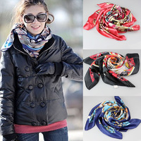 1PC National Wind Large Square Scarf Silk Head Scarves Shawl Kerchief  Freeshipping&Wholesale
