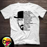 Breaking Bad I Am The Danger T-Shirt  WALTER WHITE HEISENBERG