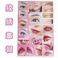 New wenxiu posters 15 lip stickers popular embroider eyebrow eyebrow lip lip propaganda tattoo equipment 20015