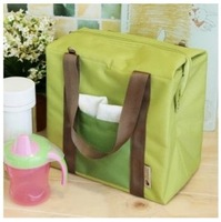 SHOPPING FESTIVAL insulated picnic bag 4 Colors Brief lunch bags portable Heat Protecting Bags Handy cooler storage bag