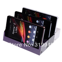 High Quality Cradle Dock Desktop Charging Station Stand + Data Cable For Sony Xperia SP M35H M35c C5303 Free Shipping  DHL HKPAM
