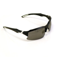 Hot! Polarized Cycling Glasses Outdoor Professional Casual Sports Sunglasses White Yellow Free Shipping