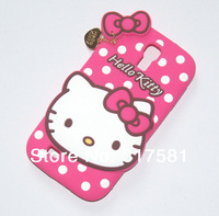 Silicone Phone shell ,S4 / i9500  Pink Hello Kitty  Mobile protective shell / Phone sets