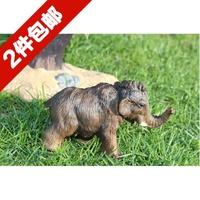 Papo wild animal model toy mammoth