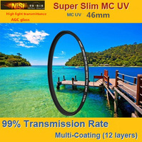 NiSi 46mm Ultra Violet Super Slim Multi-coated Multi-Coating (12 Layers) MC UV Filter For Digital SLR Camera LENS