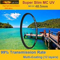 NiSi 40.5mm Ultra Violet Super Slim Multi-coated Multi-Coating (12 Layers) MC UV Filter For Digital SLR Camera LENS