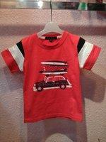 Boy  Bilayer T-shirt children's summer Thickened Windbreaker,short sleeve,Boy's fashion cotton T-shirt