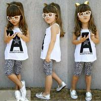 2014 new fashion summer casual girls kids clothes 2pcs sets polka dot sundress +  pants baby clothing suit