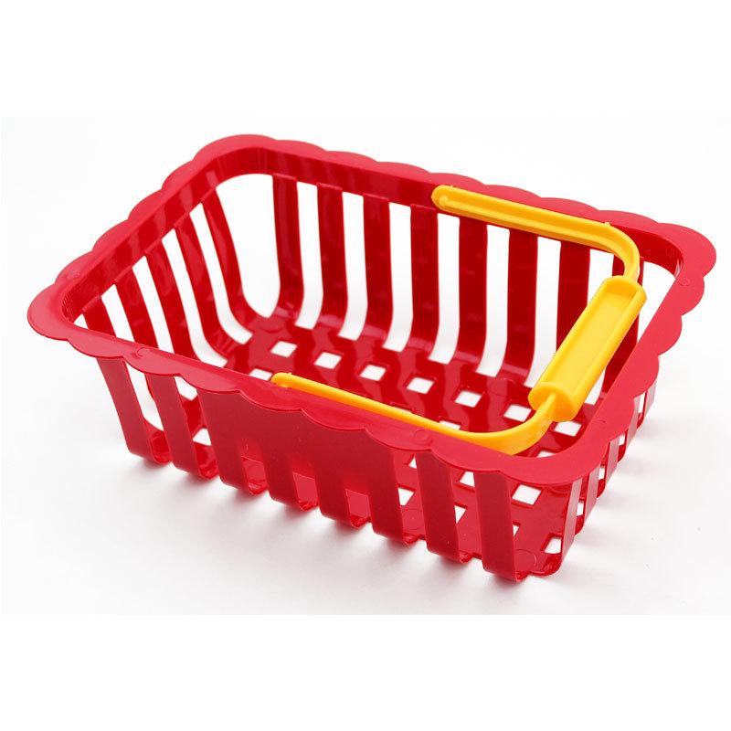 Wholesale Play house Basket Basket Plastic Child Cognitive Child Toy Nursery Teacher Teaching aid(China (Mainland))