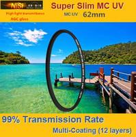 NiSi 62mm Ultra Violet Super Slim Multi-coated Multi-Coating (12 Layers) MC UV Filter For Digital SLR Camera 62 mm LENS