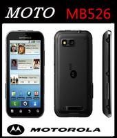 "MOTOROLA Defy MB526 Original Unlock Dust & Water Resistant refurbished Mobile Phone 3.7""Touch Screen 5MP Camera A-GPS WIFI"