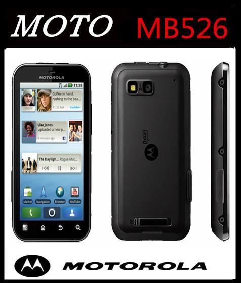 "MOTOROLA Defy MB526 Original Unlock Dust & Water Resistant refurbished Mobile Phone 3.7""Touch Screen 5MP Camera A-GPS WIFI(China (Mainland))"