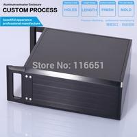 mini Full aluminum Power amplifier chassis / AMP case Enclosure / headphone amp case / PSU Box DIY Good looking