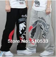 Lovers SweatPants Sport Pants Hip Hop Designer Cotton Fashion Rhino Print Man Women Casual Trouser FREE SHIP