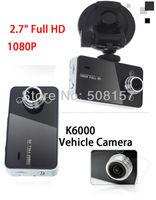 "Free Shipping K6000 Car Camera Novatek Chipset  Car DVR 2.7"" TFT Screen Recorder Video Dashboard Vehicle Camera"