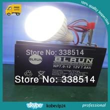 Free shipping plastic cheap 6w 12v led lighting bulb 2pcs/lot(China (Mainland))