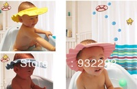 Adjustable Shower cap protect Shampoo for baby health bathing child kid children Wash Hair Shield Hat Free Drop Shipping