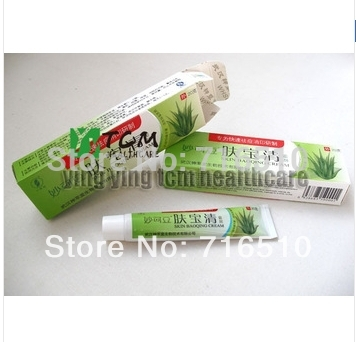English instruction Good 20g/pcs skin bao qing cream treat acne marks and acne scar mites detoxification(China (Mainland))