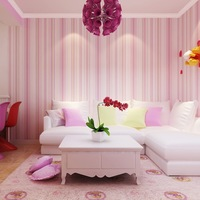 Striped Wallpaper Solid Kids Room Vertical Wall Paper Roll Waterproof Living Room Home Decor Tapete Pink Blue 3D papel de parede