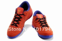 2014 New arrival Free Shipping  KB8 VIII Basketball Shoes Discount  Authentic Basketball Shoes For Men Size 8-12