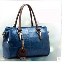 New 2014 Guarantee 100% Genuine Leather messenger bags ,Paul women's Fashion leather Handbag ,Shoulder bag Free Shipping