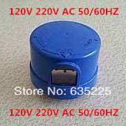 Solar photocell light switch sensor 230VAC