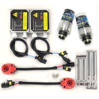 2 x Hid Ballasts Kit Wire Xenon Bulbs 12V 35W D2S 6000K [DC10]
