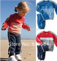 SH322 Retail children sport suit 2 pcs set children cloth brand children clothing sport set children autumn set Free shipping