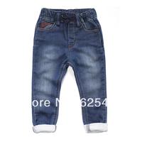 New Spring 2014 Brand Designer Denim Loop Pile Children Pants /Kids Jeans/ Boys Girls Jeans/ Jeans for boys Free Shipping A174