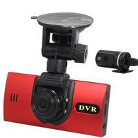 High Quality H.264 Dual-HD720P A9 Driving Recorder Car DVR Vehicle Camera Dual Lens Night Vision USB