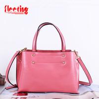 New 2014 Women Messenger Bags Fashion Bag Genuine Leather Handbags Shoulder Bag Women Handbag Leather Bags 7 colors