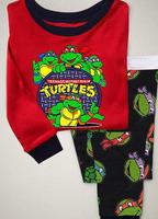 6set/lot,2014 New Baby Pajamas Children's Pyjamas kids long sleeve sleepwear clothing boys cartoon suits baby wear FREE SHIPPING