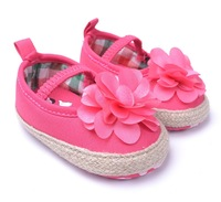 Baby Girl Princess Shoes Infant Flower Cartoon First Walkers New Fashion Cute Pink Baby Soft Sole Footwear Drop Free Shipping