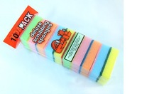 Wholesale new in 2014 10 pieces/lot  kitchen supplies housekeeper microfiber cleaning magic sponge dishcloth B-31