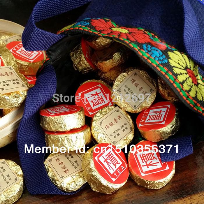 Pu er tea production in 2003 puer tea 20pcs mini tuo cha tea pu er buy