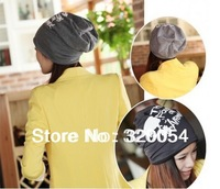 1 piece Free Shipping 2014 New The Autumn Winter Skulls Warm Hat Men And Women Knitted Skullies Beanies Cap 5 Color