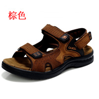 Free shipping Clearance sandals male sandals slippers genuine leather male sandals casual shoes male sandals male