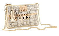 AB032 Elegant Party Queen Bling Bling Rivet Sequin Sling Bag Messenger Bag