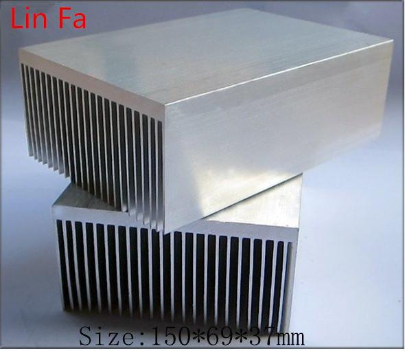 (6pieces) extruded aluminum heatsink/150*69*37mm Designed with heat sink fan/Computer dedicated heat sink(China (Mainland))