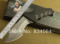 Fox - Jungle Commando tactics straight knife high quality outdoor camping hiking hunting knife
