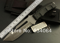 Fox -2014 new outdoor diving leggings high quality versatile straight knife hunting knife camping hiking