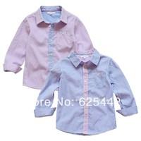 New Spring 2014 High Quality Striped Soft Brand Top Children T Shirts Boys Shirts Shirt for Boy Baby Free Shipping A152