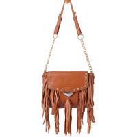 new 2014 first layer of cowhide bags women handbag women leather handbags fashion tassel women messenger bags shoulder bag