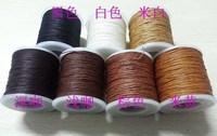 New arrival sew-on wax hemp wax leather line twiner waxed thread 0.55 - 0.85mm