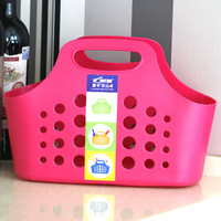 5pcs/lots Brief candy color hand basket