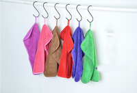 Microfiber Cleaning Towel Kitchen Quick Dry Solid Towels Free Shipping