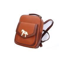 Women's Horse Satchel Bag School bag Backpack Tote Campus Bookbag Schoolbag